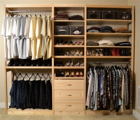 Wood Closet Organizer Kits by Wood Closet Systems Toxin Free