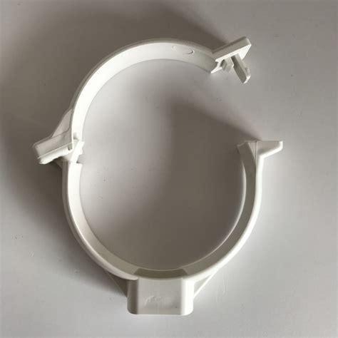 gouttière pvc blanc collier de goutti 232 re pvc blanc d100