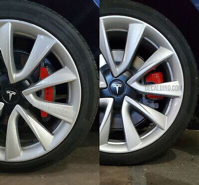 Download Tesla 3 Caliper Covers Images