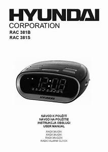 Hyundai Rac381b Alarm Clock Download Manual For Free Now