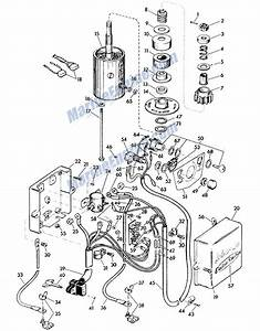 Johnson Electric Starter Grroup Parts For 1958 35hp Rds