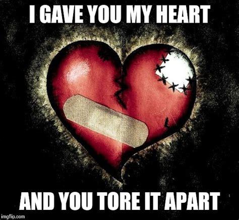 Meme Heart - broken heart imgflip
