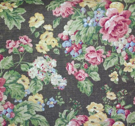 Floral Drapery Fabric by Floral Country Fabric Drapery And By Shopmyfabrics