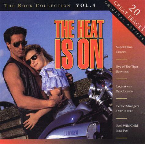 Various  The Heat Is On, The Rock Collection Vol 4 (cd