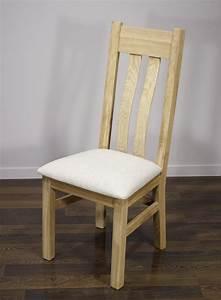 Chaise Chene Massif : chaise l onor en ch ne massif finition ch ne bross meuble en ch ne massif ~ Teatrodelosmanantiales.com Idées de Décoration
