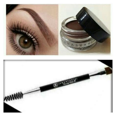 Best eyebrow color i have ever used! Anastasia Beverly Hills Dipbrow Pomade and Brush, Health ...