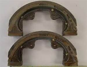 Kubota Brake Shoes Set L175 Sn 12404 U0026gt   L225  L1500  L2000