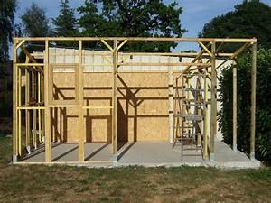 Construire Un Garage En Bois Soi Meme : cabane de jardin fait soi meme cabanes abri jardin ~ Dallasstarsshop.com Idées de Décoration
