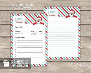 printable letter to santa kit with envelope template my With letter to santa kit