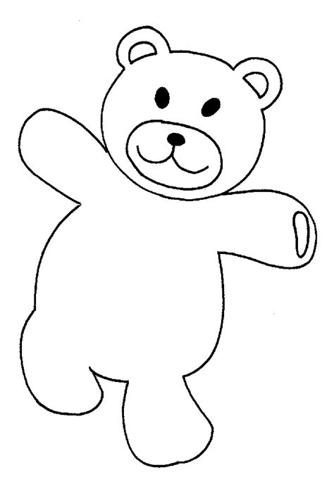 teddy bear coloring pages   kids cartoon coloring