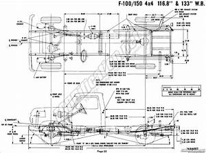 1976 ford body builder39s layout book fordificationnet With 1949 ford f 250 4x4