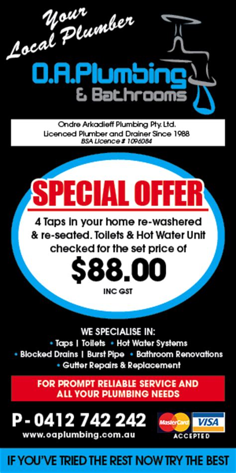 bathroom renovations oa plumbing bathrooms