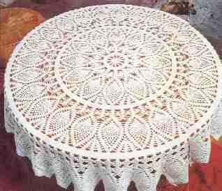 hermoso mantel de pi 241 as tejido a crochet con patr 243 n gratis mantel tejido a ganchillo paso a paso