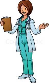 Female Doctor Cartoon