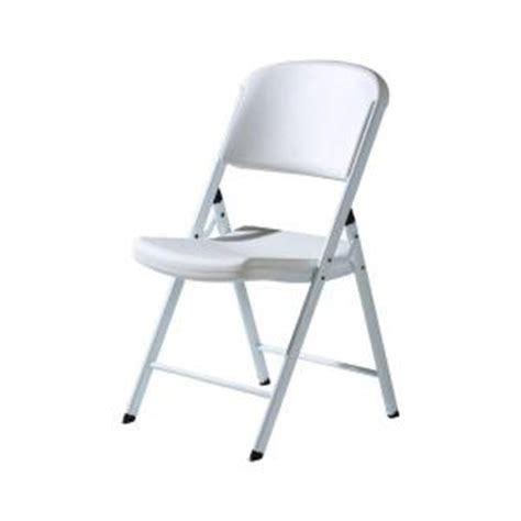 home depot folding cing chairs lifetime commercial folding chair in classic white 4 pack