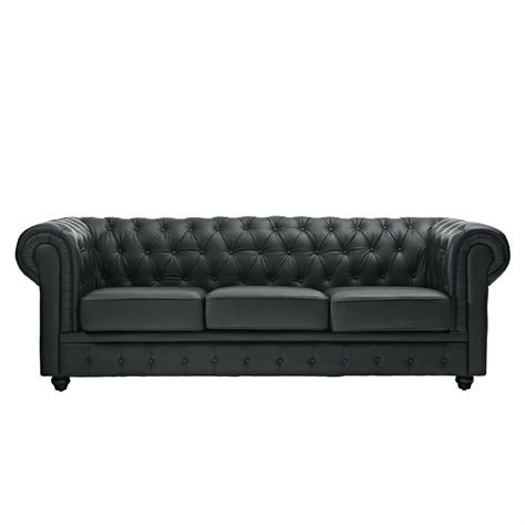 Leather Chesterfield Loveseat by Leather Sofa Chesterfield Ebay