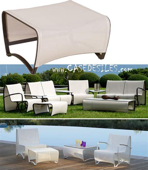 canapé de jardin aluminium canape de jardin aluminium canapé modulable design