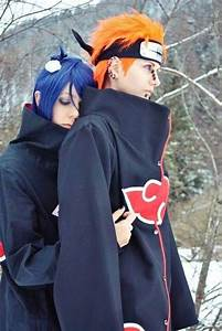 Naruto cosplay #anime #konan #pain Love this couple and ...