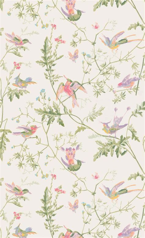 foto de Papier peint Hummingbirds Cole and Son Papier peint