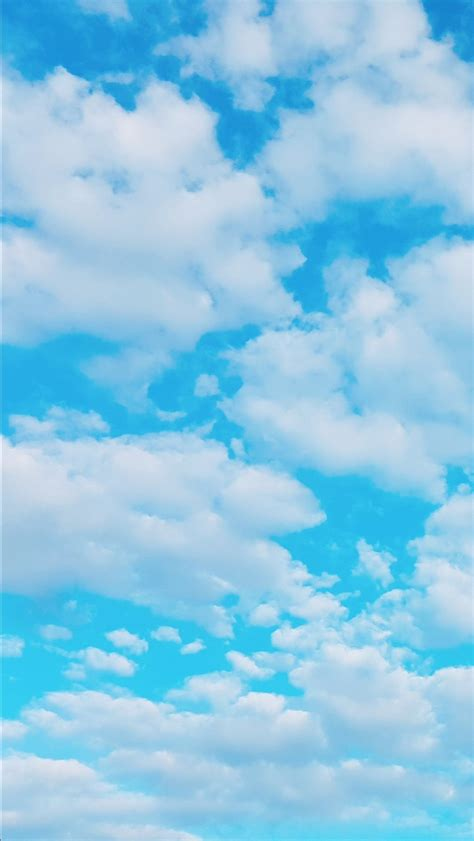 blue sky aesthetic wallpapers