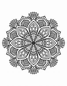 Mandalas Para Colorear Dificiles | www.imgkid.com - The ...