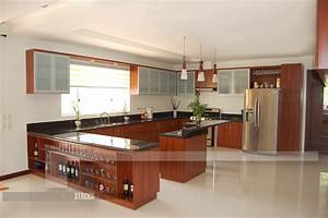 modern u type kitchen with an island With what kind of paint to use on kitchen cabinets for art deco wall coverings
