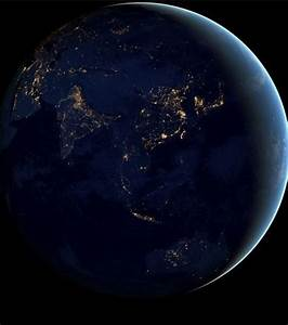 The Beautiful Earth From Space In Night (Photo Gallery)