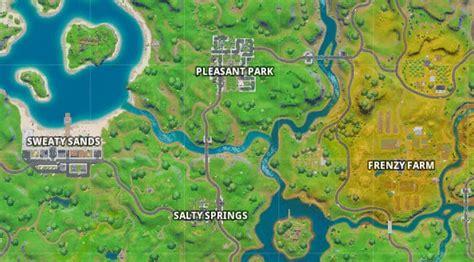 fortnites  map     zones