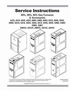 Goodman Ghs8 Service Manual