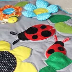 Tapis Pour Bébé : grand tapis d 39 veil pour b b tapis de jeu enfant ~ Melissatoandfro.com Idées de Décoration