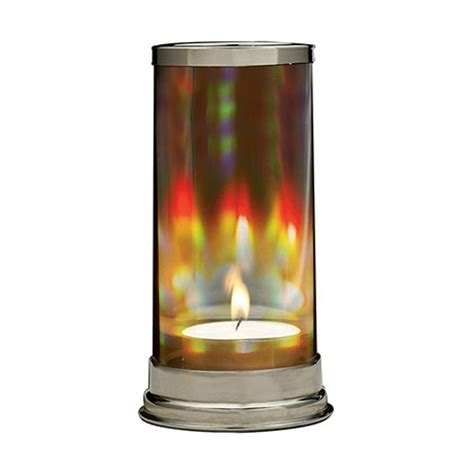 hurricane candle ls prism candle holder with hurricane holographic