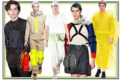 Trends Menswear Runway Wear Warring Fair Take