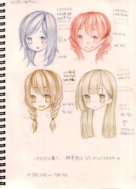 hairstyles  ninapon  deviantart