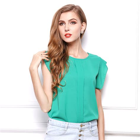 blouses for sale sale chiffon shirts sleeve o neck summer
