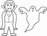 Ghost Halloween Coloring Pages Printable Ghosts Vampire Clip Clipart Colouring Spooky Toddlers Goblins Preschoolers Vampires Happy Bigactivities Ghouls Filminspector They sketch template
