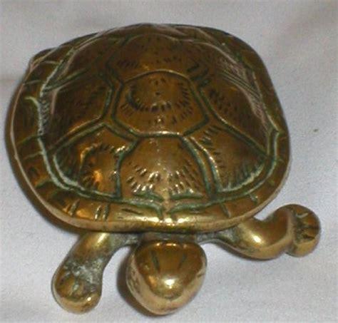 antique brass ls value solid brass antique turtle vesta 33414 price value