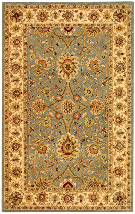 safavieh antiquities safavieh antiquities at249a light blue ivory rug studio