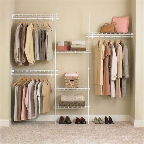 closetmaid superslide 174 closet organizer kit white 5 to