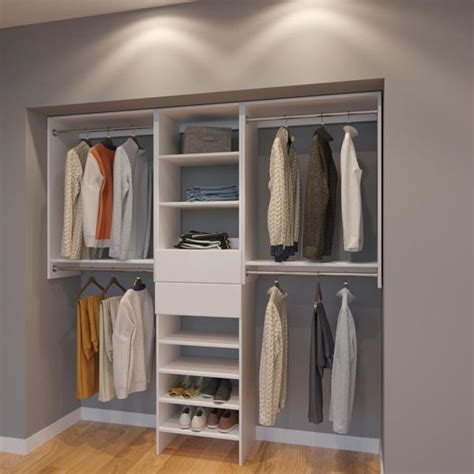 modular closets  ft plywood closet organizer system