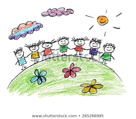 crayon drawing stock  images pictures shutterstock