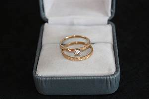 vintage wedding ring set 10k yellow gold diamond egagement With 10k yellow gold wedding ring set