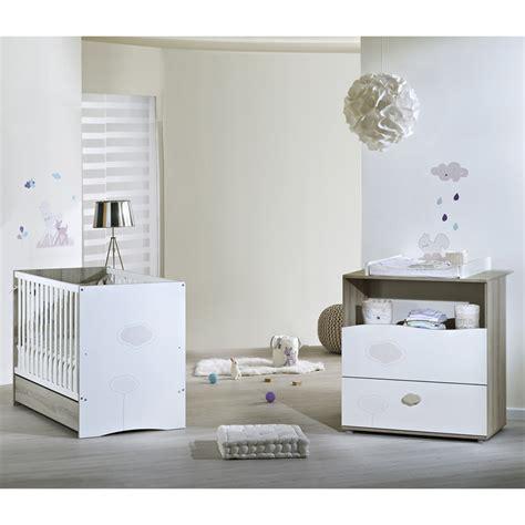 liste chambre bébé chambre bébé duo nael lit commode de sauthon meubles sur
