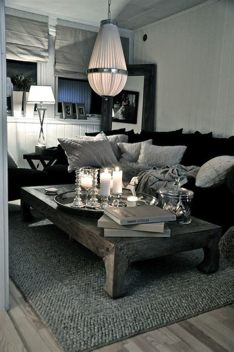 Living Room Designs Grey And Black by Grey Black And White Simple And Stunning Home In 2019