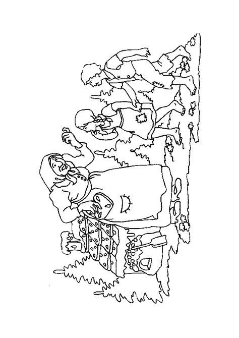 Kleurplaat Heks Hans En Grietje kleurplaat efteling hans en grietje hans en grietje heks