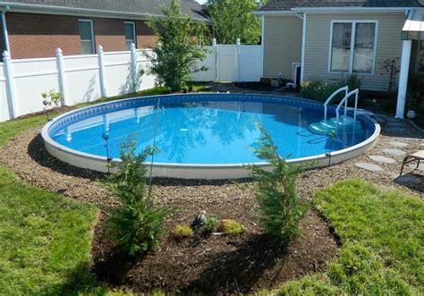 inground pond semi inground pool ideas joy studio design gallery best design