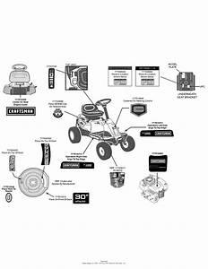 Mtd 13b226jd099  247 290000   R1000   2014  Parts Diagram