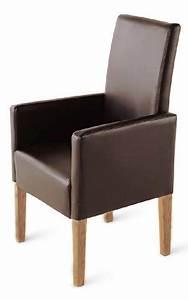 Stühle Esszimmer Leder Braun : sam armlehn stuhl recyceltes leder braun eiche urdana ~ Markanthonyermac.com Haus und Dekorationen