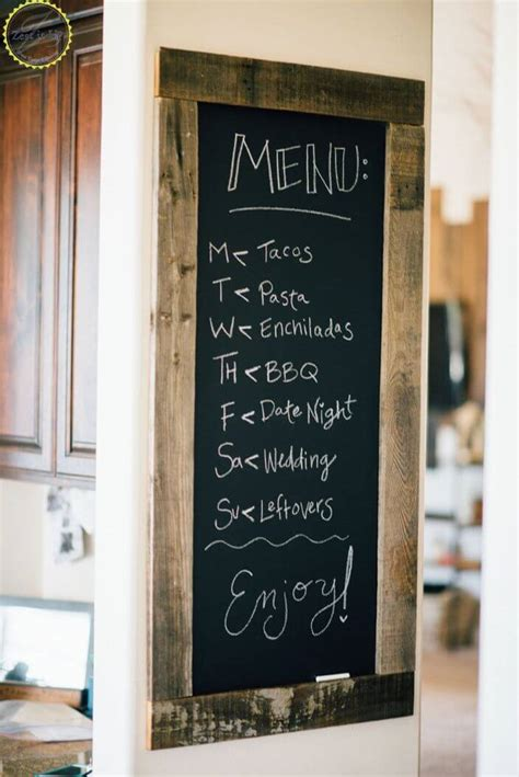 chalkboard kitchen wall ideas 36 best kitchen wall decor ideas and designs for 2018