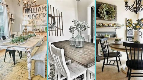 Decorating Ideas For Rustic Dining Room by Diy Shabby Chic Style Rustic Dining Room Decor Ideas