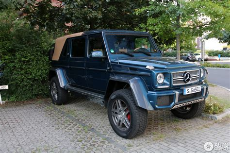 Having set the standards for luxury automobiles for almost a century, mercedes never rest on their laurels and continue to produce. Mercedes-Maybach G 650 Landaulet W463 - 21 Juli 2017 - Autogespot